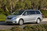 2011 Toyota Sienna XLE in Silver Sky Metallic - Driving Front Left Three-quarter View
