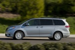 2011 Toyota Sienna XLE in Silver Sky Metallic - Driving Left Side View