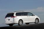 2011 Toyota Sienna Limited in Blizzard Pearl - Static Rear Right View