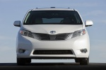 2011 Toyota Sienna Limited in Blizzard Pearl - Static Frontal View
