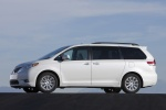2011 Toyota Sienna Limited in Blizzard Pearl - Static Left Side View