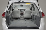2011 Toyota Sienna Limited Trunk in Light Gray
