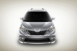 2011 Toyota Sienna SE in Silver Sky Metallic - Static Frontal View