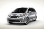 2011 Toyota Sienna SE in Silver Sky Metallic - Static Front Left Three-quarter View