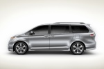 2011 Toyota Sienna SE in Silver Sky Metallic - Static Side View