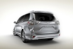 2011 Toyota Sienna SE in Silver Sky Metallic - Static Rear Left View