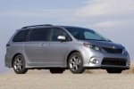 2011 Toyota Sienna SE in Silver Sky Metallic - Static Front Right Three-quarter View
