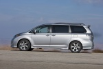 2011 Toyota Sienna SE in Silver Sky Metallic - Static Left Side View