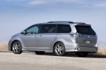 2011 Toyota Sienna SE in Silver Sky Metallic - Static Rear Left Three-quarter View