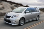 2011 Toyota Sienna SE in Silver Sky Metallic - Driving Front Left Three-quarter View