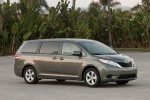 2012 Toyota Sienna LE in Predawn Gray Mica - Static Front Right Three-quarter View