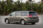 2012 Toyota Sienna LE in Predawn Gray Mica - Static Rear Left Three-quarter View
