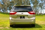 2017 Toyota Sienna Limited AWD in Creme Brulee Mica - Static Rear View