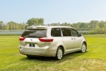 2017 Toyota Sienna Limited AWD in Creme Brulee Mica - Static Rear Right Three-quarter View