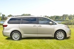 2017 Toyota Sienna Limited AWD in Creme Brulee Mica - Static Side View