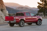 2011 Toyota Tacoma Double Cab SR5 V6 4WD in Barcelona Red Metallic - Static Rear Right Three-quarter View
