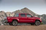 2011 Toyota Tacoma Double Cab SR5 V6 4WD in Barcelona Red Metallic - Static Side View