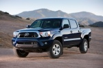 2014 Toyota Tacoma Double Cab SR5 V6 4WD in Blue Ribbon Metallic - Static Front Left View