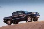 2015 Toyota Tacoma Double Cab SR5 V6 4WD in Blue Ribbon Metallic - Static Side View