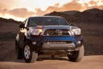 2015 Toyota Tacoma Double Cab SR5 V6 4WD in Blue Ribbon Metallic - Static Front Right View