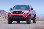 2015 Toyota Tacoma Access Cab V6 4WD in Barcelona Red Metallic - Static Front Left View