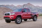 2015 Toyota Tacoma Access Cab V6 4WD in Barcelona Red Metallic - Static Front Left Three-quarter View