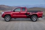 2015 Toyota Tacoma Access Cab V6 4WD in Barcelona Red Metallic - Static Side View