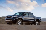 2015 Toyota Tacoma Double Cab SR5 V6 4WD in Blue Ribbon Metallic - Static Front Left Three-quarter View