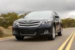 2014 Toyota Venza Limited 4WD in Cosmic Gray Mica - Driving Front Left View