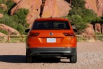 2018 Volkswagen Tiguan SEL in Habanero Orange Metallic - Static Rear View