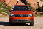 2018 Volkswagen Tiguan SEL in Habanero Orange Metallic - Static Frontal View