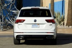 2018 Volkswagen Tiguan R-Line in Pure White - Static Rear View