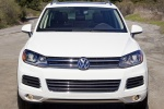 2014 Volkswagen Touareg TDI in Pure White - Static Frontal View
