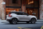 2020 Volvo XC40 T5 R-Design AWD in Crystal White Metallic - Driving Right Side View