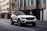 2020 Volvo XC40 T5 R-Design AWD in Crystal White Metallic - Driving Front Right View