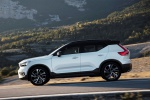 2020 Volvo XC40 T5 R-Design AWD in Crystal White Metallic - Driving Left Side View