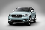 2020 Volvo XC40 T5 Momentum AWD in Light Blue - Static Front Left View