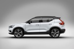 2020 Volvo XC40 T5 R-Design AWD in Crystal White Metallic - Static Side View