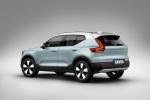 2020 Volvo XC40 T5 Momentum AWD in Light Blue - Static Rear Left Three-quarter View