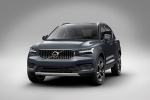2020 Volvo XC40 T5 Inscription AWD in Denim Blue Metallic - Static Front Left View