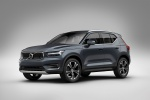2020 Volvo XC40 T5 Inscription AWD in Denim Blue Metallic - Static Front Left Three-quarter View