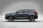 2020 Volvo XC40 T5 Inscription AWD in Denim Blue Metallic - Static Side View