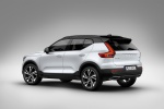 2020 Volvo XC40 T5 R-Design AWD in Crystal White Metallic - Static Rear Left Three-quarter View