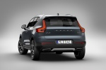 2020 Volvo XC40 T5 Inscription AWD in Denim Blue Metallic - Static Rear Left View