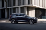 2020 Volvo XC40 T5 Inscription AWD in Denim Blue Metallic - Driving Side View