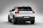 2020 Volvo XC40 T5 R-Design AWD in Crystal White Metallic - Static Rear Left View