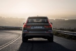 2018 Volvo XC60 T6 AWD in Pine Gray Metallic - Driving Rear View
