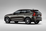 2018 Volvo XC60 T6 AWD in Pine Gray Metallic - Static Rear Left Three-quarter View
