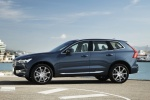 2018 Volvo XC60 T6 AWD in Denim Blue Metallic - Static Left Side View