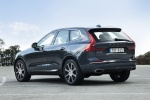 2018 Volvo XC60 T6 AWD in Denim Blue Metallic - Static Rear Left Three-quarter View